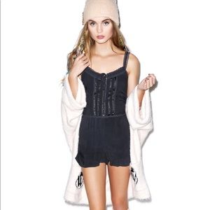 Wildfox Couture Ruffle Romper sold by Dollskill